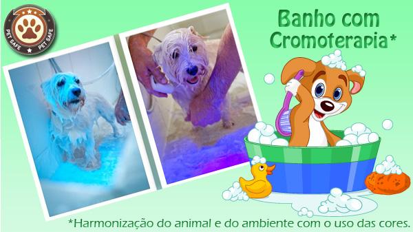 Banho Inovador com Cromoterapia*